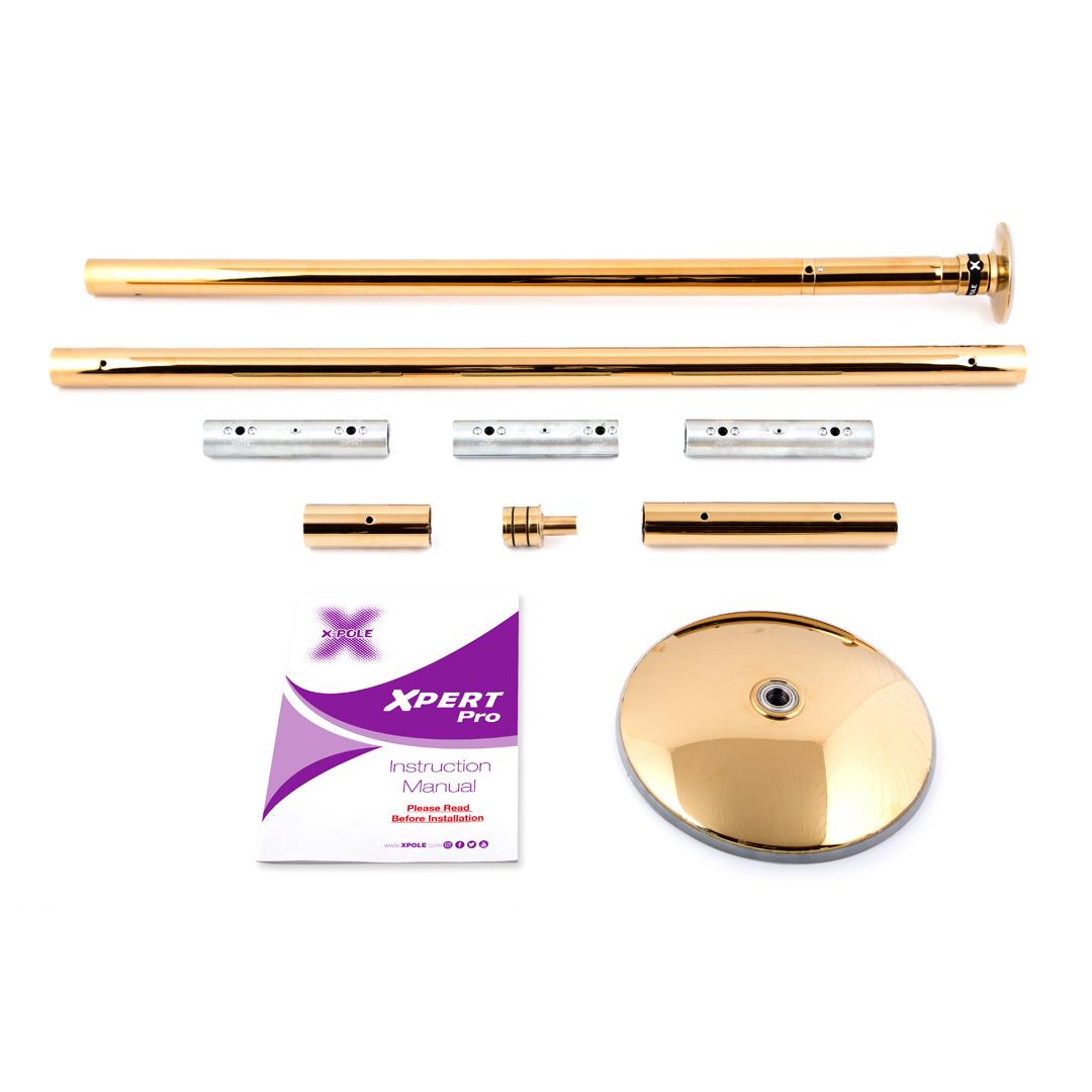 X-Pole Xpert Pro (PX) 45mm Set, Gold
