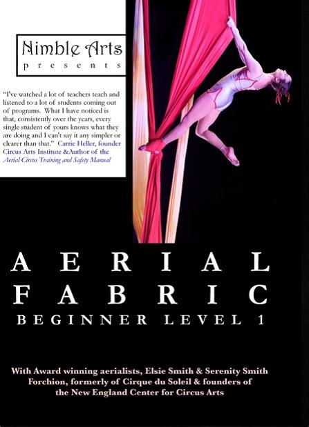 Aerial Fabric Instructional DVD Vol. 1