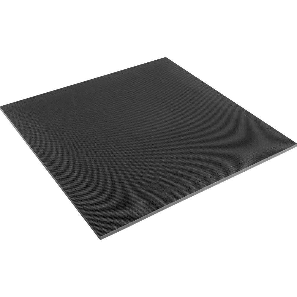 Reversible Training Mat, Black/Green
