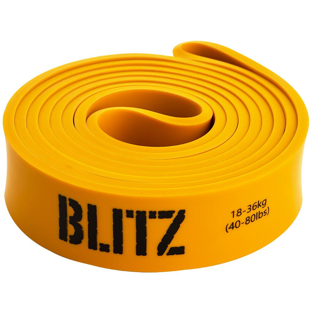 Rubber Resistance Band, Yellow