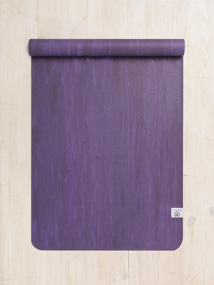 Yogamatters  Eco Travel Yoga Mat grape-purple
