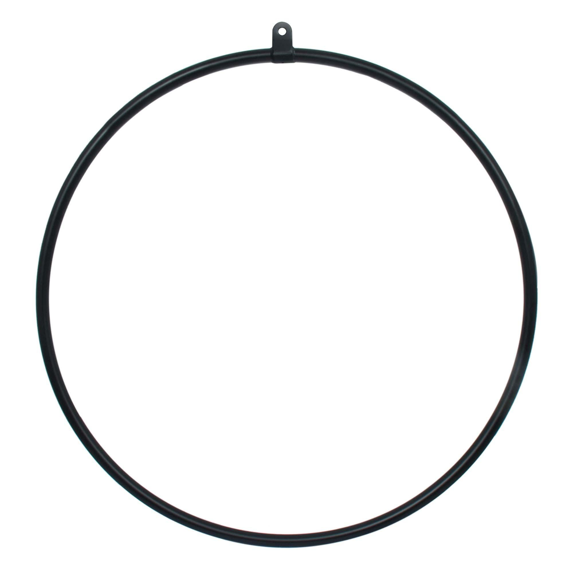1 Point Aerial Hoop - pearl black