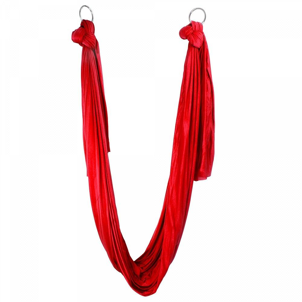 Aerial Yoga Hammock red