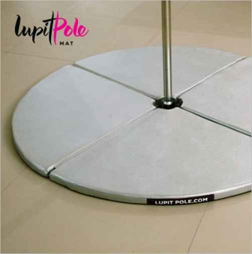 Lupit Pole Mat, Silber