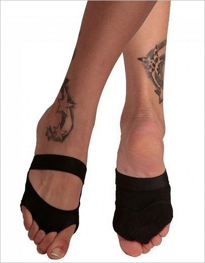 Sole Protectors Trixie Toes, black with tack