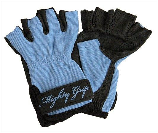 Mighty Grip Gloves, blue without tack