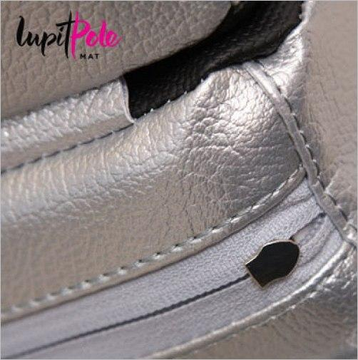 "Lupit Pole Mat ""Premium"", Silber"