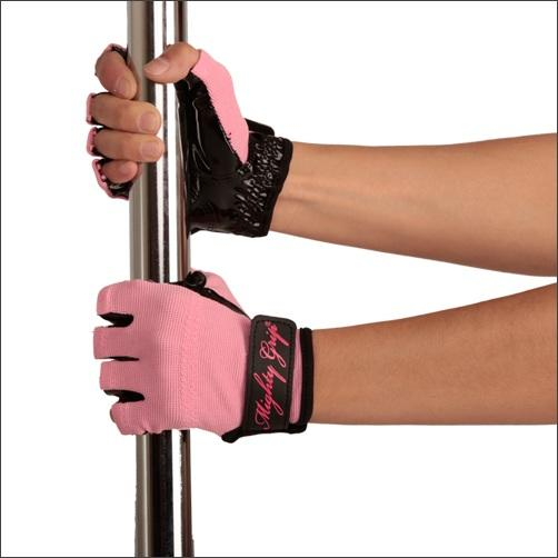 Mighty Grip Gloves, pink without tack