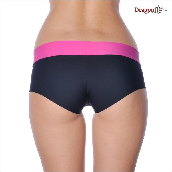 Hot pants - black/pink