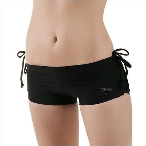 Michelle - fitness shorts - black