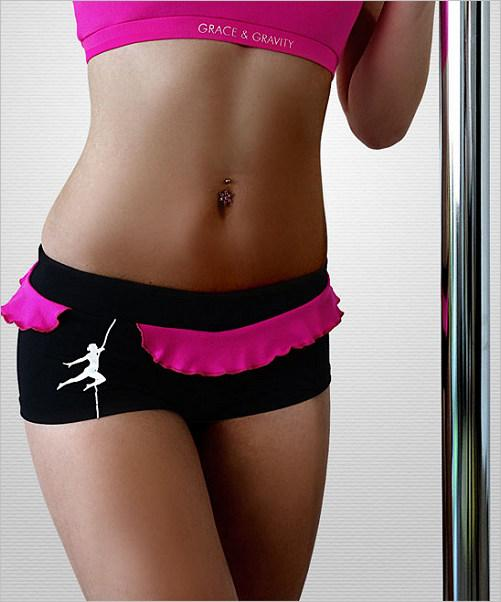 Play Sport Short, black/pink