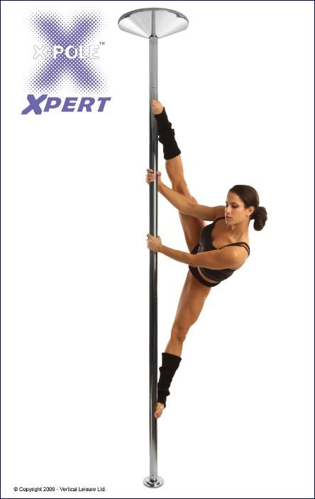 X-Pole Xpert 45mm Set, Chrom