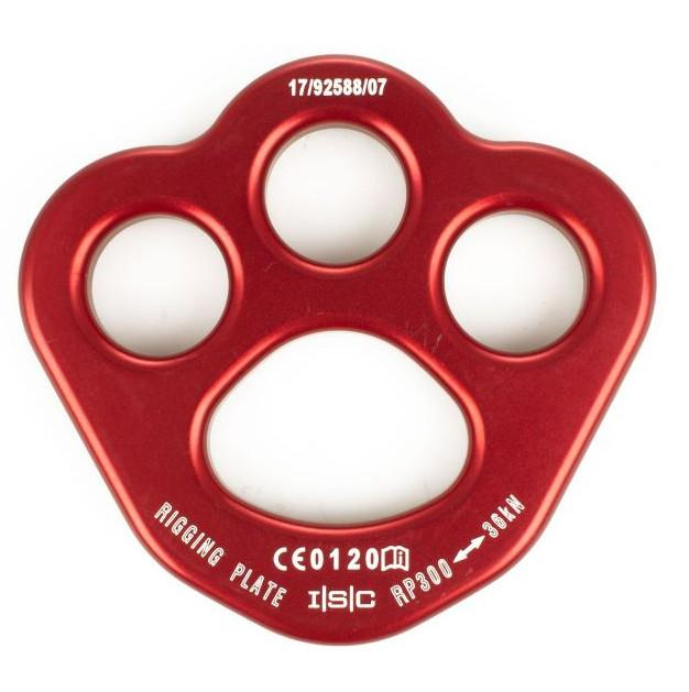 ISC Rigging Plate - Small Red