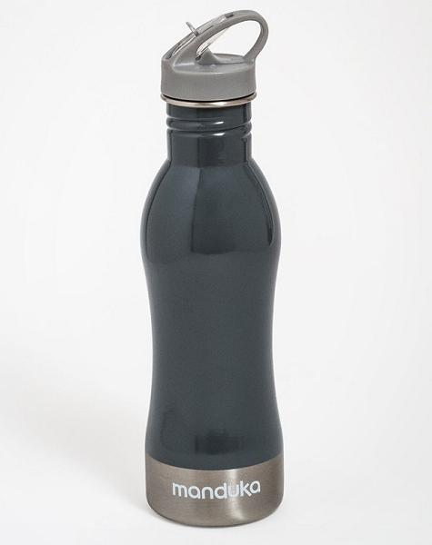 Stainless Steel Water Bottle - Thunder, Grey