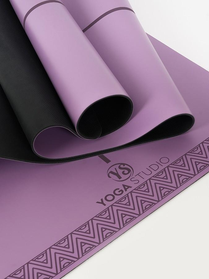 Yoga Studio The Grip Alignment Mat, purple
